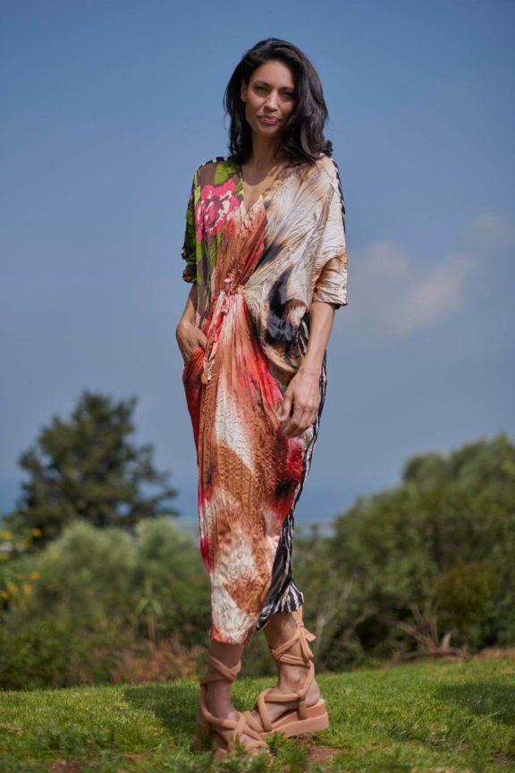 Alembika_Frühjahr_Sommer 2022 dress flowerprint