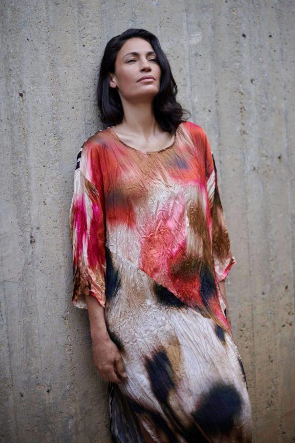 Alembika_Frühjahr_Sommer 2022 dress rose print