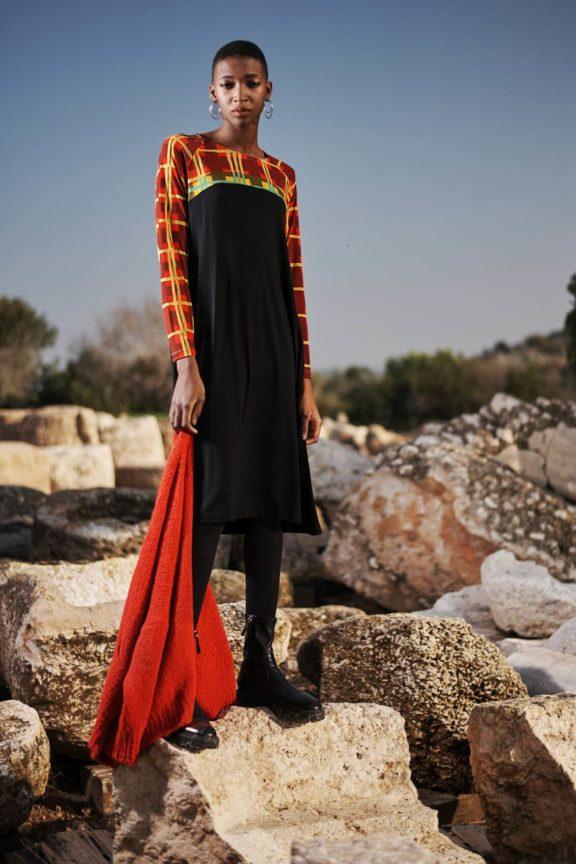alembika herbst wintermode kleid muster
