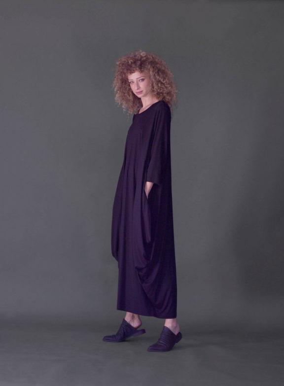 AMMA_Frühjahr_Sommer 2022 Jersey Dress black