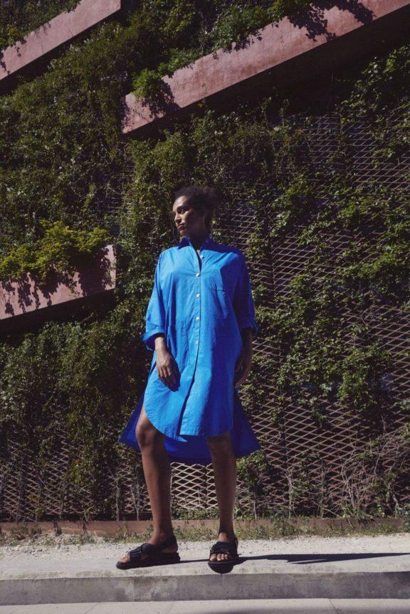 Bitte Kai Rand_Frühjahr_Sommer 2022 Dress royal blue