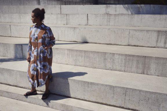 Bitte Kai Rand_Frühjahr_Sommer 2022 Dress flowerprint