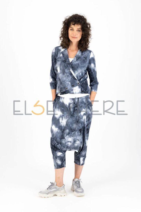 Elsewhere_Frühjahr_Sommer 2022 Tech suit tie dye