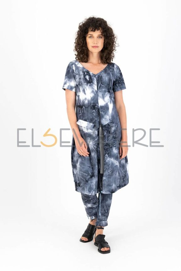 Elsewhere_Frühjahr_Sommer 2022 Dress tech tie dye