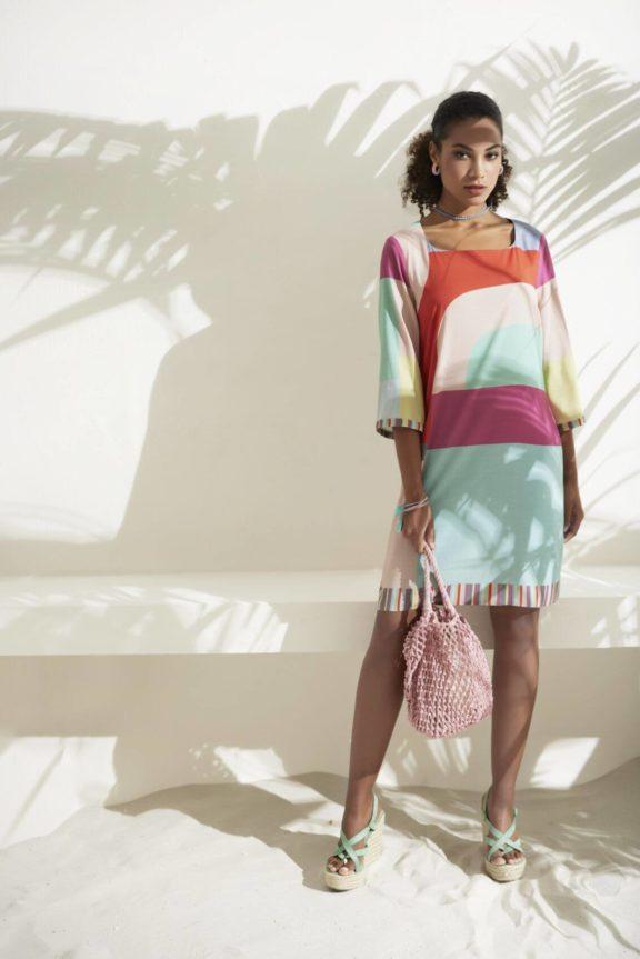 FOX'S_Frühjahr_Sommer 2022 Kleid print
