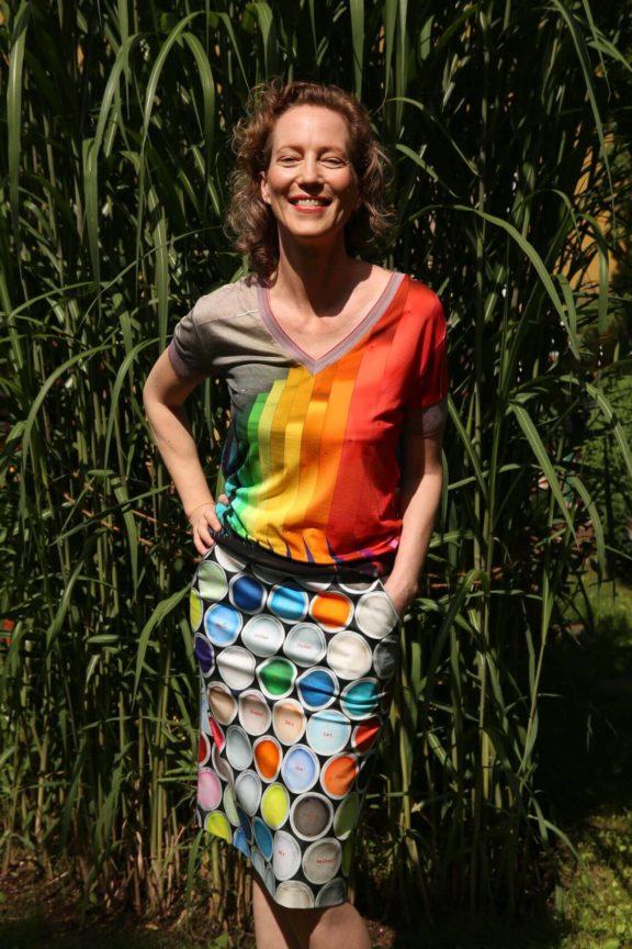 Icke BERLIN_Frühjahr_Sommer 2022 Shirt Regenbogen