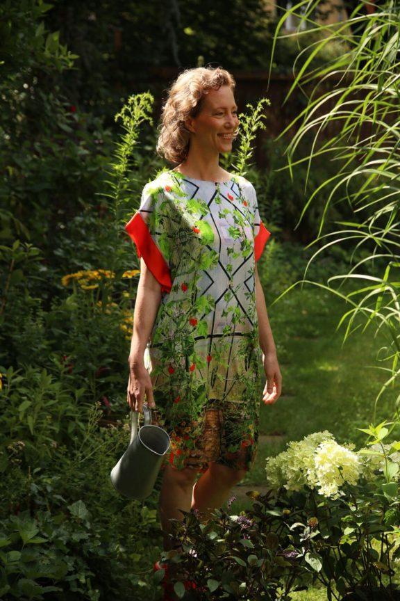Icke BERLIN_Frühjahr_Sommer 2022 Kleid Gartentraum