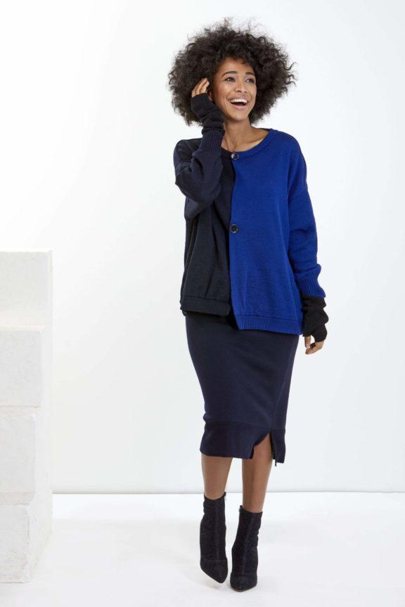 Knit Knit Herbst-Winter-Kollektion-2021- Sweater royal