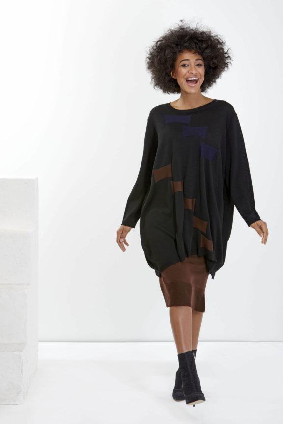 Knit Knit Herbst-Winter-Kollektion-2021-Sweater black