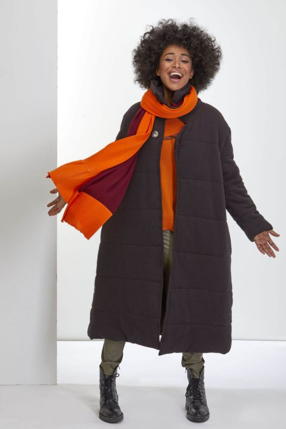 Knit Knit Herbst-Winter-Kollektion-2021 Coat brown