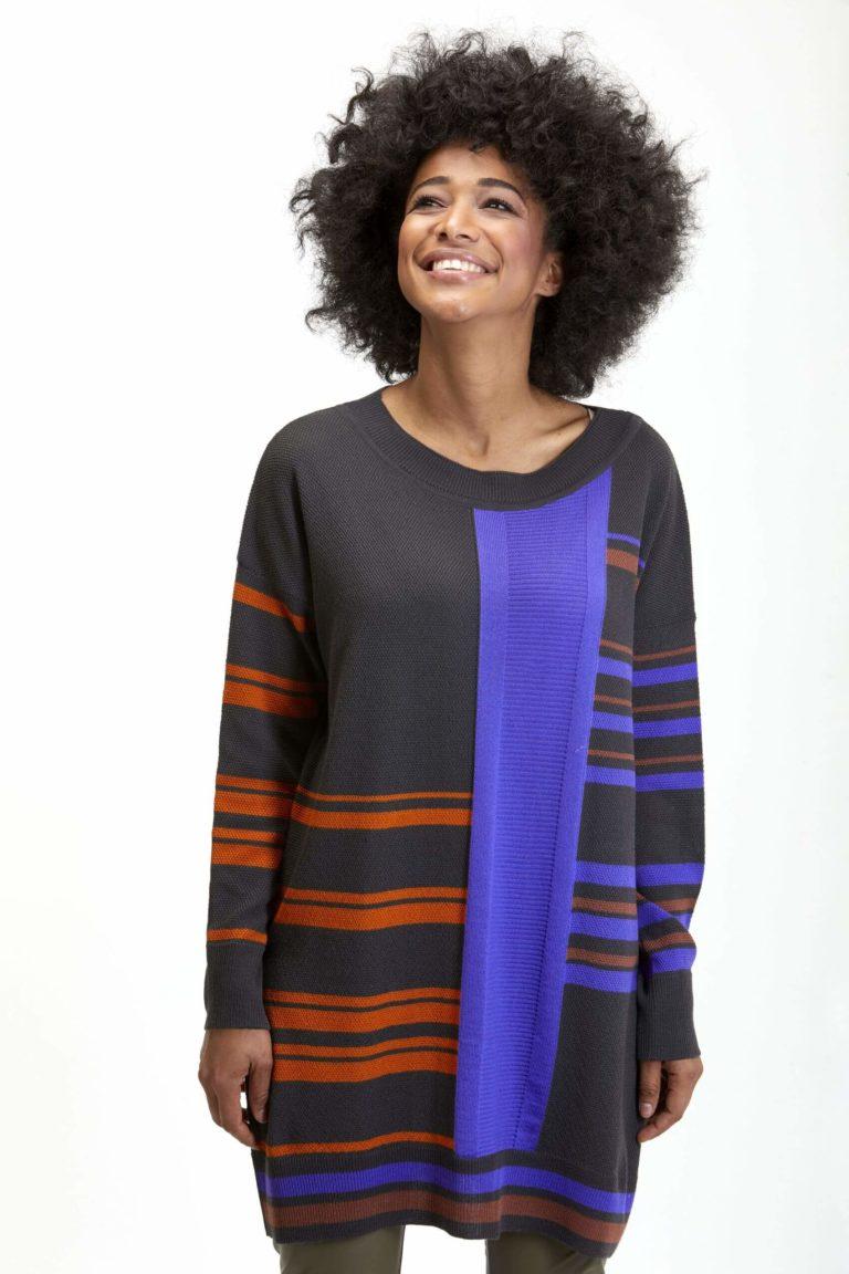 Knit Knit Herbst-Winter-Kollektion-2021 Sweater stripes