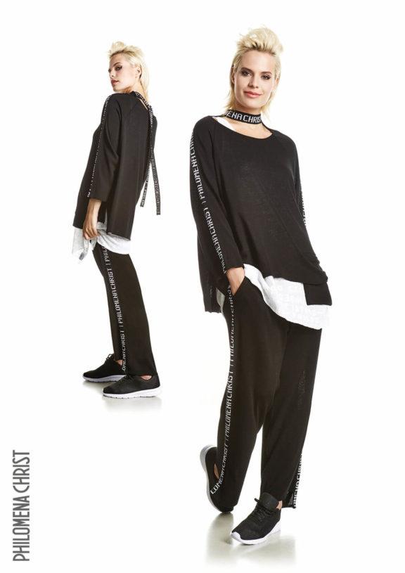 Philomena Christ_Frühjahr_Sommer 2022 Knitwear black