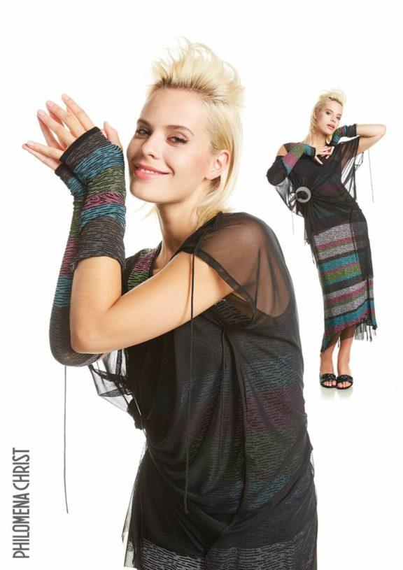 Philomena Christ_Frühjahr_Sommer 2022 Dress multicoloured